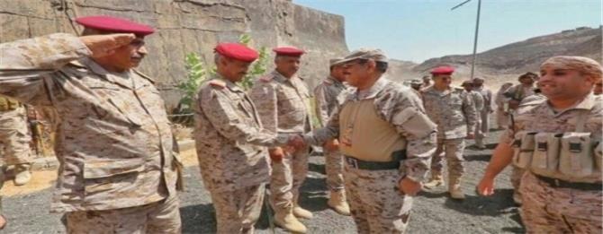 اللواء أحمد مساعد يدعو لإدخال قوات على محسن إلى شبوة والبدء بتصدير النفط بالشراكة مع سلطة الإصلاح في مأرب