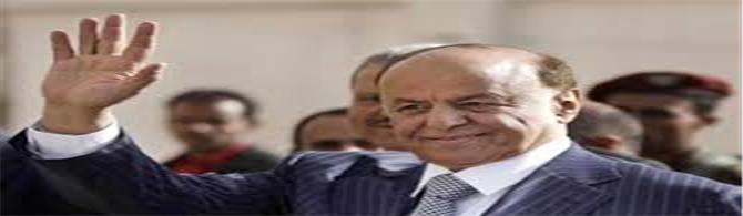 الرئيس هادي يعين يصدر قراراً بتعيين رئيسا لهيئة الاستخبارات والاستطلاع