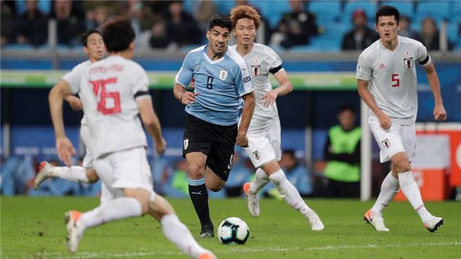 الأوروغواي تتعادل بصعوبة مع اليابان في كوبا أميركا