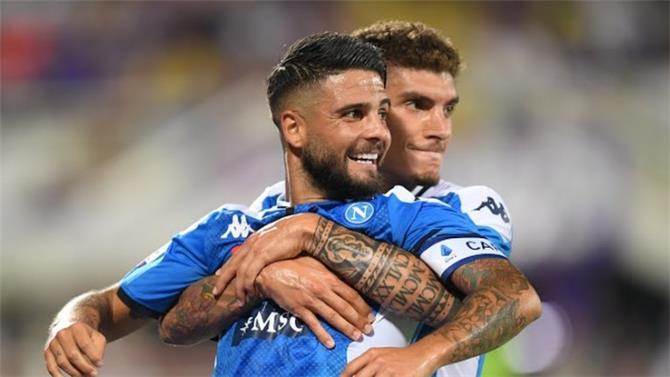 نابولي يفوز على فيرونتينا في الدوري الإيطالي