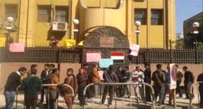 وصول لجنة للتحقيق مع السفير مارم بقضايا فساد السفارة اليمنية في مصـر