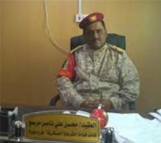 بسبب مرافقته للميسري والجبواني.. قائد القوات السعودية بالمهرة يطرد قائد الشرطة العسكرية بالمحافظة ويسحب منه المعدات العسكرية