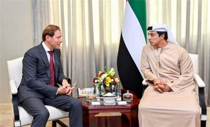 الإمارات وروسيا تبحثان التعاون المشترك بينهما في كل المجالات