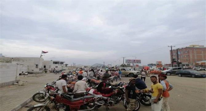 التحالف يمنع استخدام الدراجات النارية بعدن