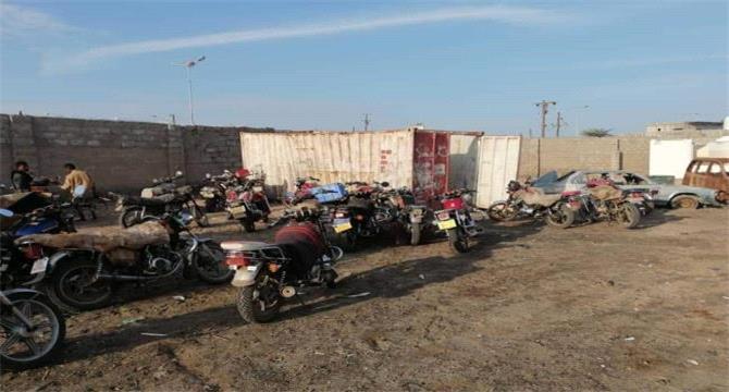 تشديدات أمنية في عدن .. ضبط العشرات من الدراجات والسيارات الغير مرقمة والأسلحة الغير مرخصة
