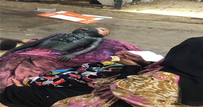 ضبط إمرأة تمارس أغرب وأبشع وسيلة للتسول في عدن