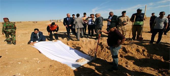 بعد اكتشاف مقابر جماعية.. بيان شديد اللهجة من هيئة علماء المسلمين