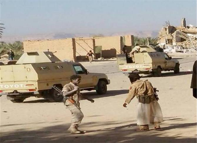 ميليشيا الإخوان تتخلى عن مديرية مجزر بمأرب لميليشيا الحوثي