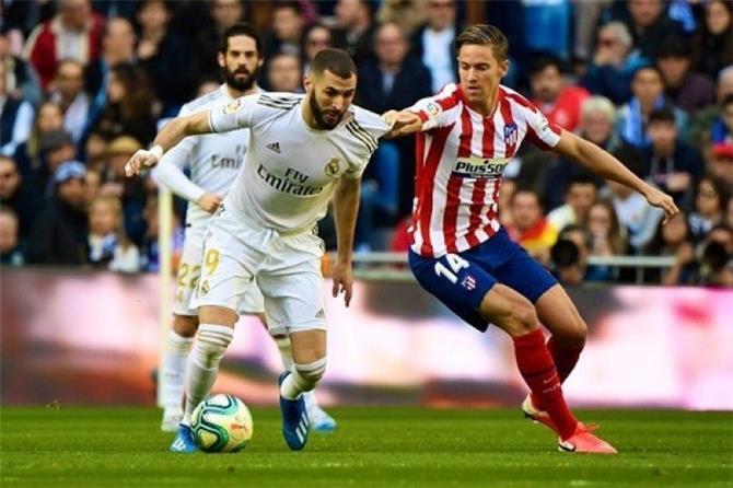 الريال يحسم ديربي مدريد ويعزز صدارته للدوري الإسباني