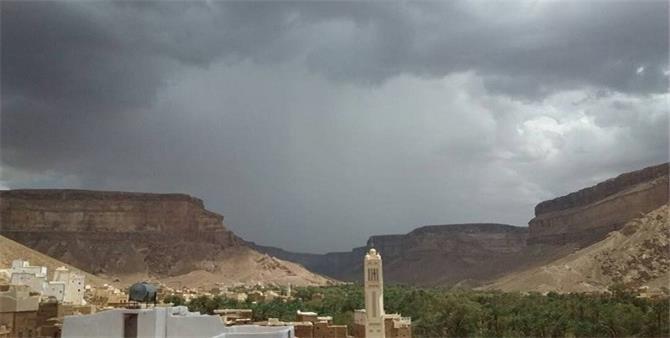 توقعات بسقوط أمطار في هذه المحافظات