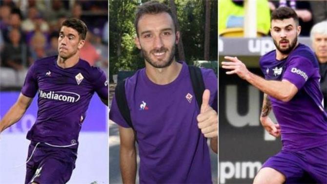 تعافي ثلاثي فيورنتينا الإيطالي بعد اصابتهم بكورونا