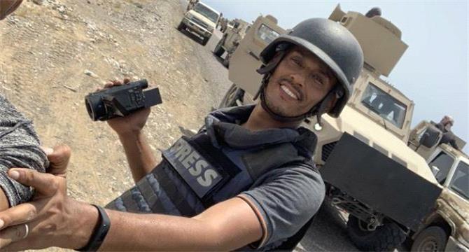 اغتيال المصور الصحفي نبيل القعيطي في العاصمة عدن