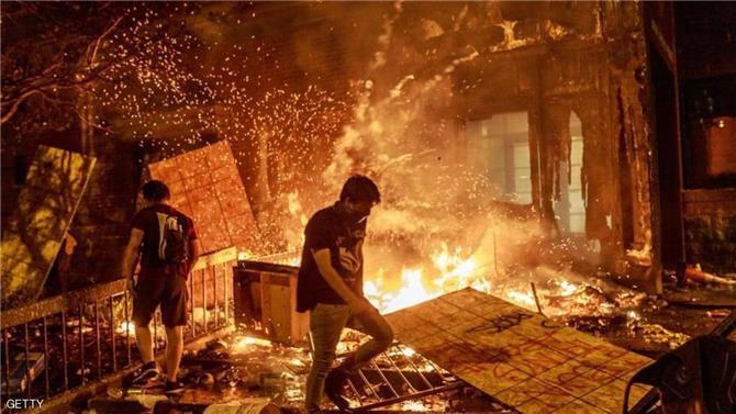 مسؤولون يكشفون الخسائر الاقتصادية لتظاهرات مينيابوليس