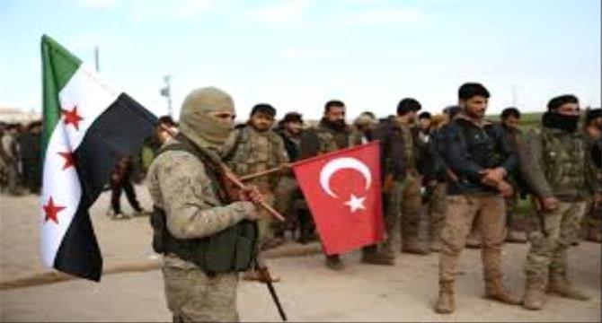 قناة الحدث: تركيا بدأت عملية تجنيد مقاتلين سوريين لغرض ارسالهم للقتال في اليمن