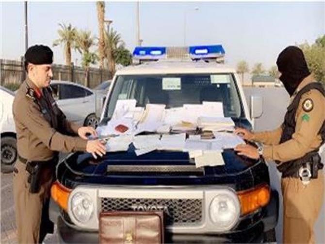 ضبط يمنيين متورطين بجرائم سرقة بالرياض