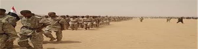 التحالف التركي القطري يدشن المعسكر الثاني في صعيد شبوة