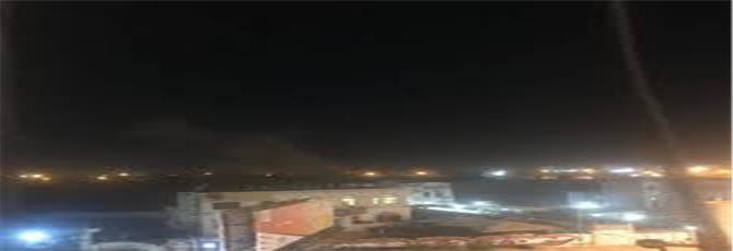الحوثيون يستهدفون حياً سكنياً بمدينة مأرب بصاروخ باليستي