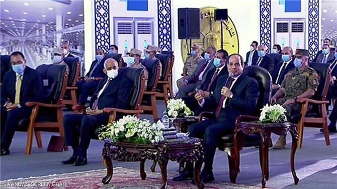 السيسي: مصر حريصة على التعامل مع أزمة