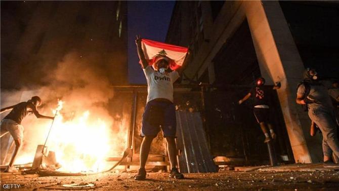 تجدد المواجهات في بيروت.. وسقوط 42 جريحا