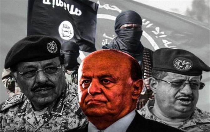 ارتباط الشرعية اليمنية بالجماعات الارهابية يثير قلق ومخاوف الدول الأوروبية وأمريكا (تقرير )