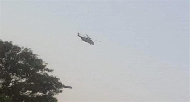 قوات تابعة للتحالف تنتشر في محيط قصر معاشيق بعدن