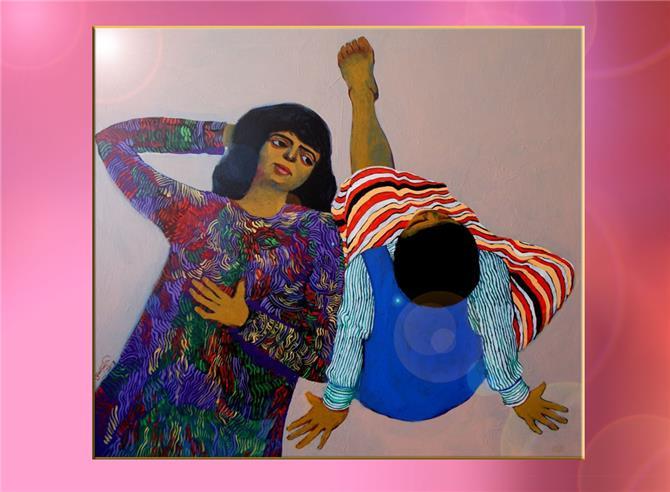 التجريب والتجديد يجمعان فنانين عربا في
