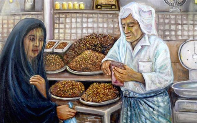 تشكيليون كويتيون يستعيدون تراث سوق المباركية التاريخية جماليا