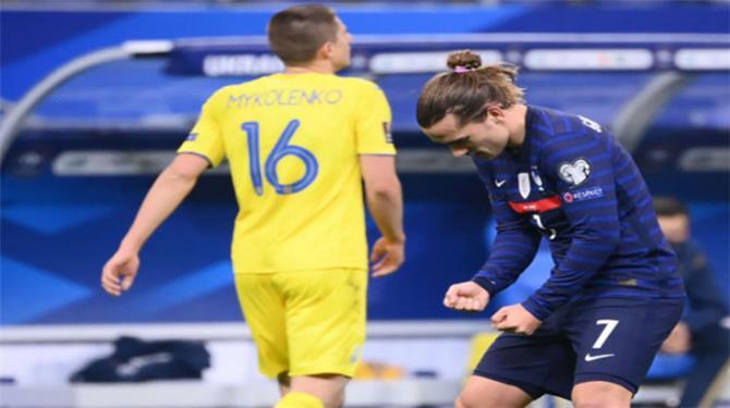 منتخب فرنسا يسقط في فخ التعادل أمام أوكرانيا