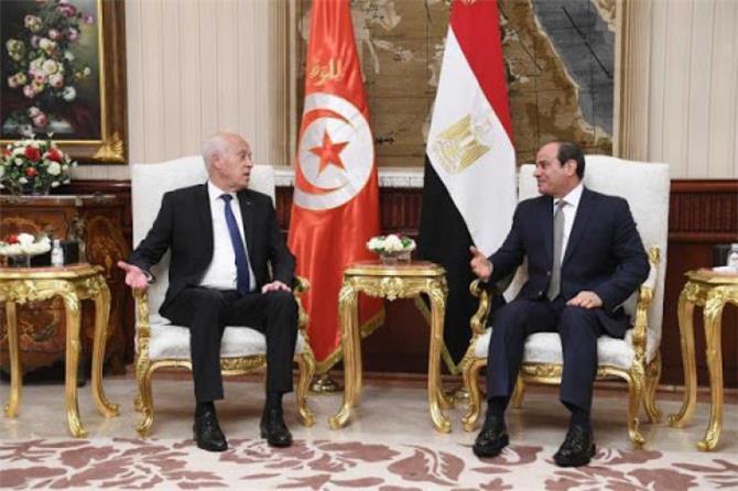 النهضة تهاجم الرئيس التونسي بعد زيارة مصر