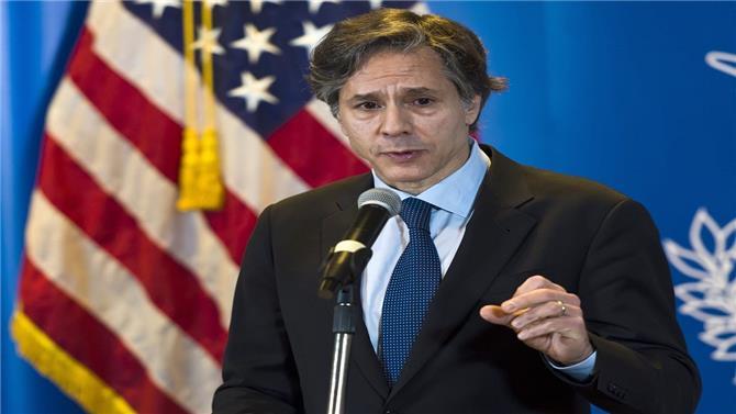 وزير الخارجية الأمريكي يزور أوكرانيا لإظهار دعم بلاده لها في مواجهة روسيا