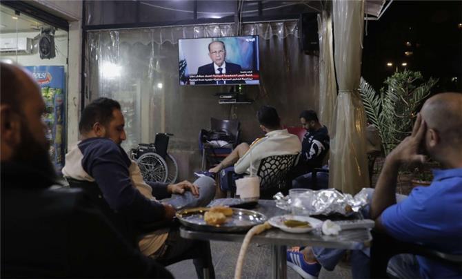 حالة طوارئ صحافية في لبنان سببها صورة لميشال عون بالبيجاما